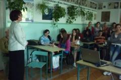 11.05.2011r. Spotkanie z młodzieżą w Zespole Szkół nr 3 w Hrubieszowie