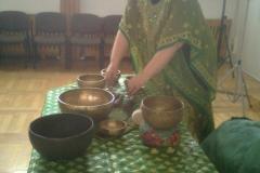 25.11.2011r. Masaż dźwiękiem gongu i mis tybetańskich