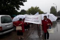 26.08.2018r. Marsz różowej wstążki w Poniatowej
