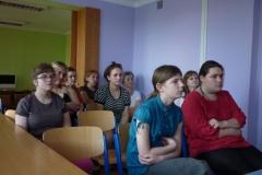 27.05.2014r. Spotkanie z uczennicami w Bursie Międzyszkolnej